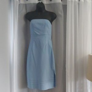 Strapless dress from Express